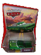 Disney Pixar World of Cars - Green Ramone