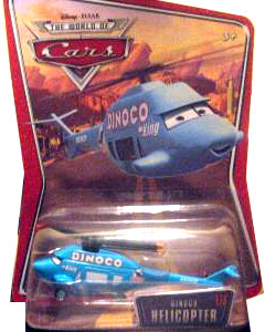 Disney Pixar World of Cars - Dinoco Helicopter