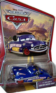 Disney Pixar World of Cars - Pit Crew Fabulous Hudson Hornet