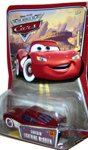 Disney Pixar World of Cars - Cruisin Lightning McQueen