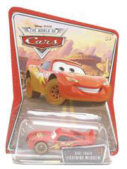 Disney Pixar World of Cars - Dirt Track Lightning McQueen