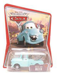 Disney Pixar World of Cars - Brand New Blue Mater