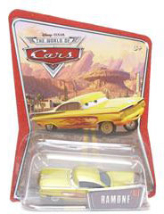 Disney Pixar World of Cars - Yellow Ramone