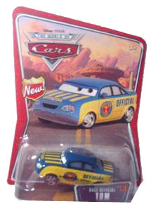 Disney Pixar World of Cars - Race Official Tom