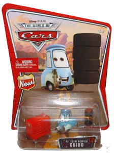Disney Pixar World of Cars - Pit Crew Guido