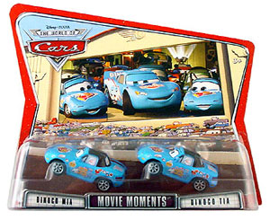 Disney Pixar World Of Cars - Dinoco Tia and Mia