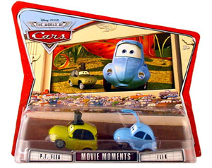 Disney Pixar World Of Cars - PT Flea and Flik