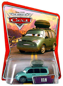 Disney Pixar World of Cars - Van