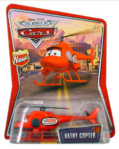 Disney Pixar World of Cars - Kathy Copter