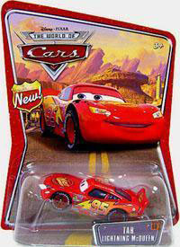 Disney Pixar World of Cars - Tar Lightning McQueen