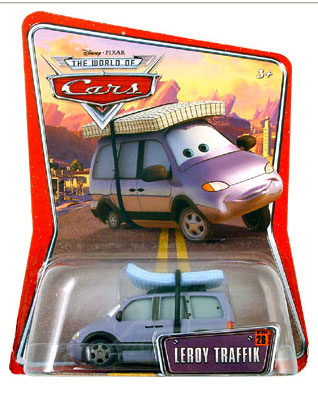 Disney Pixar World of Cars - Leroy Traffik
