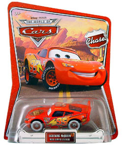 Disney Pixar World of Cars - Chase Limited Petrol Lightning McQueen
