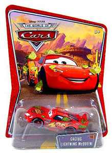 Disney Pixar World of Cars - Cactus McQueen