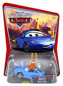 Disney Pixar World of Cars - Sally with Cone