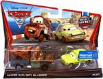 Cars 2 Movie - 2-Pack - Mater Secret Mission - Mater with Spy Glasses and Acer