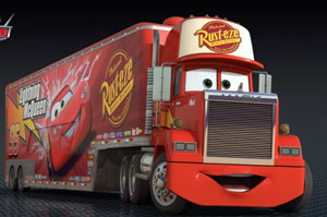 Cars 2 Movie - Mack Truck
