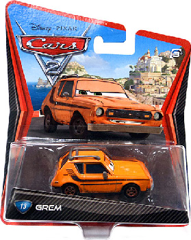 Cars 2 Movie - Grem