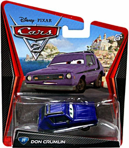 Cars 2 Movie - Don Crumlin
