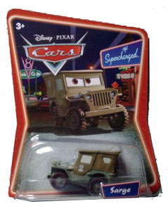 Cars The Movie Die-Cast: Supercharged Sarge