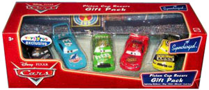 Piston Cup Racers Exclusive Gift Pack