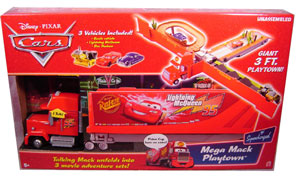 DISNEY PIXAR SUPERCHARGED - MEGA MACK TRUCK PLAYTOWN