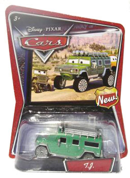 Disney Cars Supercharge - TJ Hummer
