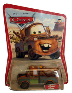 Cars The Movie Original Die-Cast: Mater Mate