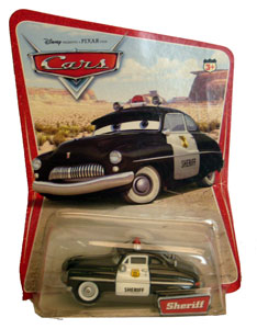 Cars The Movie Die-Cast: Sheriff