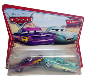 Cars The Movie Original Die-Cast: Flo and Ramone