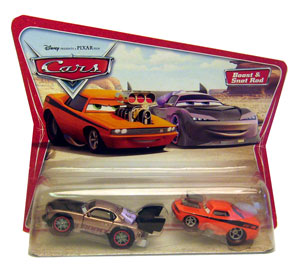 Cars The Movie Original Die-Cast: Boost and Snot Rod