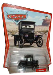Cars The Movie Original Die-Cast: Lizzie