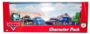 Cars The Movie Die-Cast: Character Pack with Sally