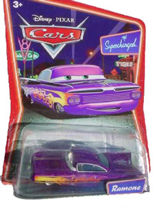 Cars The Movie Die-Cast: Supercharged Purple Ramone