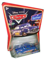 Cars The Movie Supercharged Die-Cast: Fabulous Hudson Hornet