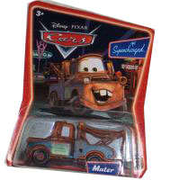 Cars The Movie Supercharged Die-Cast: Mater
