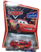 Cars The Movie Supercharged Die-Cast: Lightning McQueen