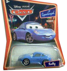 Cars The Movie Supercharged Die-Cast: Sally