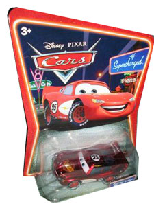 Cars The Movie Supercharged Die-Cast: Radiator Spring Lightning McQueen
