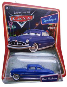 Cars The Movie Supercharged Die-Cast: Doc Hudson