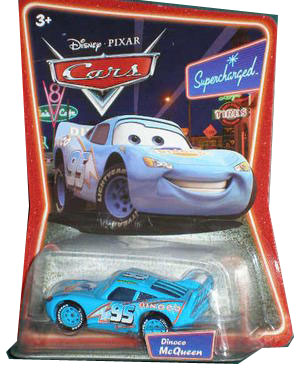 Cars The Movie Supercharged Die-Cast: Dinoco McQueen
