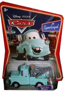 Cars The Movie Die-Cast: Supercharged Blue Mater