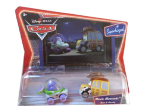 Cars The Movie Die-Cast: Supercharged Buzz and Woody