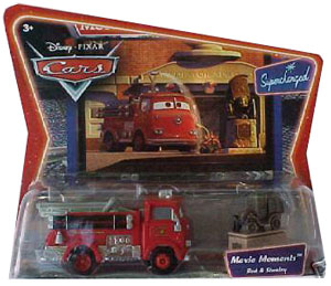Cars The Movie Die-Cast: Supercharged Red and Stanley