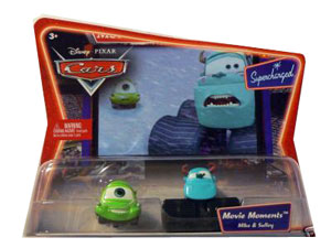Cars The Movie Die-Cast: Supercharged Mike and Sulley