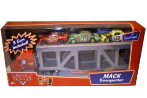 Cars The Movie Supercharged: Mack Transporter