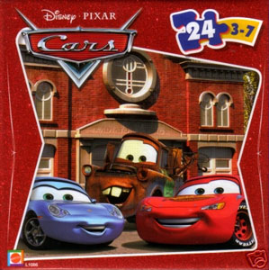 Cars The Movie Puzzle - McQueen, Mater, Sally