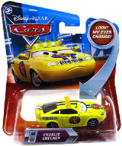 Cars Lenticular Eyes 2 - Charlie Checker