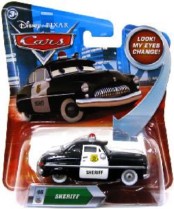 Cars Lenticular Eyes 2 - Sheriff
