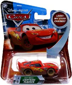 Cars Lenticular Eyes 2 - Dirt Track Lightning McQueen