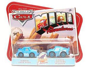 Cars Mini Adventures - Dinoco Dream - Dinoco Chick Hicks and Dinoco Lightning McQueen